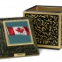Canadian Flag Legacy - CC037 (on Bronze Triune)